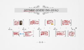 SETTIMIO SEVERO (193-211 d.C)