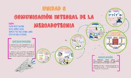 COMUNICACIÓN INTEGRAL DE LA  MERCADOTECNIA