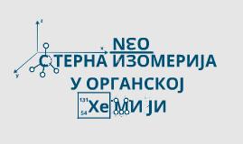 Prezi sterna izomerija -Nikola Radnović