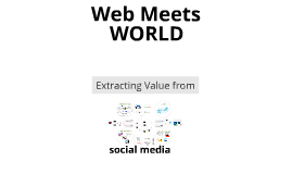 Web 2.0 - New Principles for Realizing Value from Data