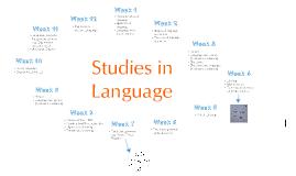 Studies in Language