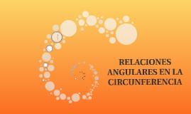 Relaciones angulares de la circunferencia