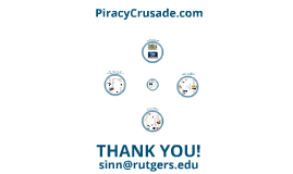The Piracy Crusade - Rutgers Musicological Society, September 24, 2014
