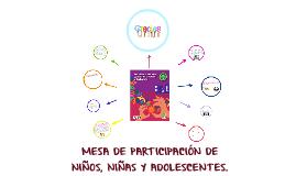 Copy of MESA DE PARTICIPACIÓN NIÑOS, NIÑAS Y ADOLESCENTES.