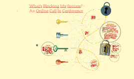 What's Blocking My Success? - An Online Call In Conference