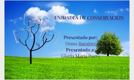 UNIDADES DE CONSERVACION
