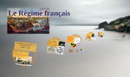 Populations cours 2: Le Régime français