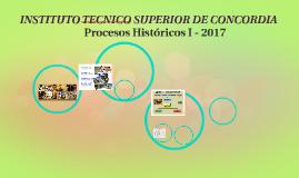 Procesos Históricos I
