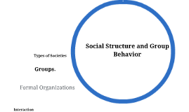 Social Structure and Group Behavior