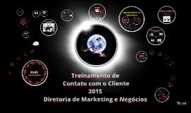 Treinamento de Contato com o Cliente 2015