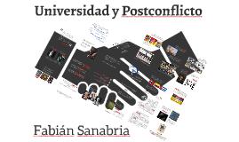 Universidad y Postconflicto