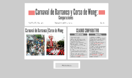 Carnaval de Barranco y Corso de Wong