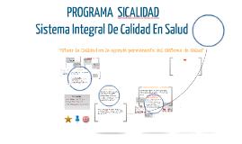 Copy of Copy of  PROGRAMA  SICALIDAD
