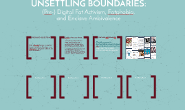 Unsettling Boundaries
