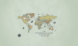 The British Empire and the Commonwealth