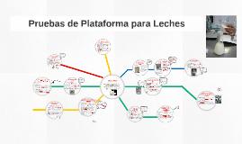 Pruebas de Plataforma para Leches