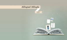 Bilingual/Bilingüe