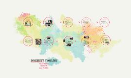 Diveristy timeline
