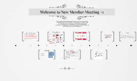 Welcome to New Member Meeting #1