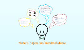 Copy of Author's Purpose and Intended Audience