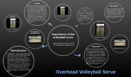 Copy of Overhead Volleyball Serve