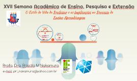 XVII Semana Acadêmica de Ensino, Pesquisa e Extensão