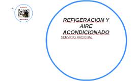 REFIGERACION Y AIRE ACONDICIONADO
