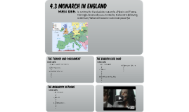 4.3 (Student) Monarch in England