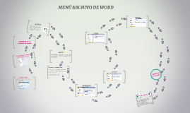 MENÚ ARCHIVO DE WORD
