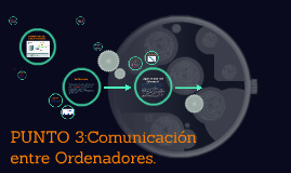PUNTO 3:Comunicación entre Ordenadores.