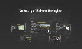 University of Alabama Birmingham