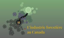 L`industrie forrestiere