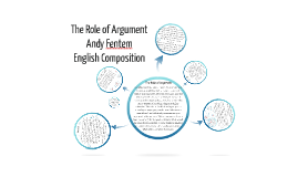 The Role of Argument