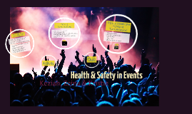 Health & Safety in Events