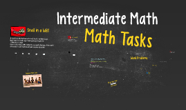 Intermediate Math Session Fall 2014