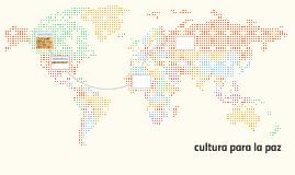 cultura para la paz