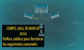 CONPES 3661 DE MAYO DE 2010
