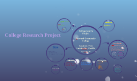 Copy of College Research Project