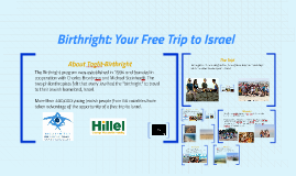 Copy of Birthright: Your Free Trip Halfway Across the World