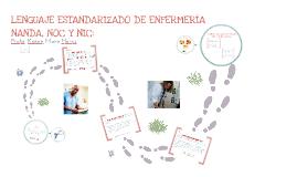 Copy of Lenguaje estandarizado (NANDA, NOC y NIC)