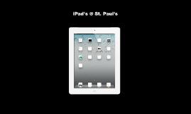 iPad @ St. Paul's