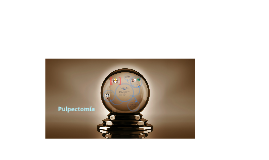 pulpectomía