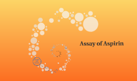 Assay of Aspirin