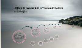 rafagaS DE ESTRUCTURAS DE CORRELACION DE MODELOPS DE TRAFICO