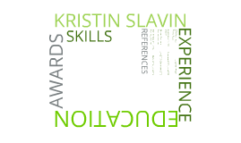 Kristin Slavin - Resume