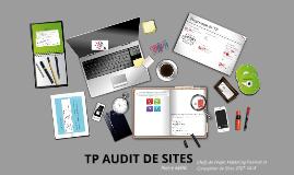 Etude de Sites TP Chefs de Projet Webmarketing