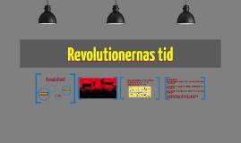 Revolutionernas tid