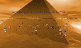 Copy of Ancient Egypt: From Old Kingdom to New