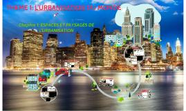 CHAPITRE 1: Espaces et paysages de l'urbanisation