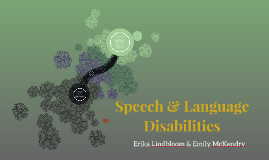 Speech & Language Disabilities